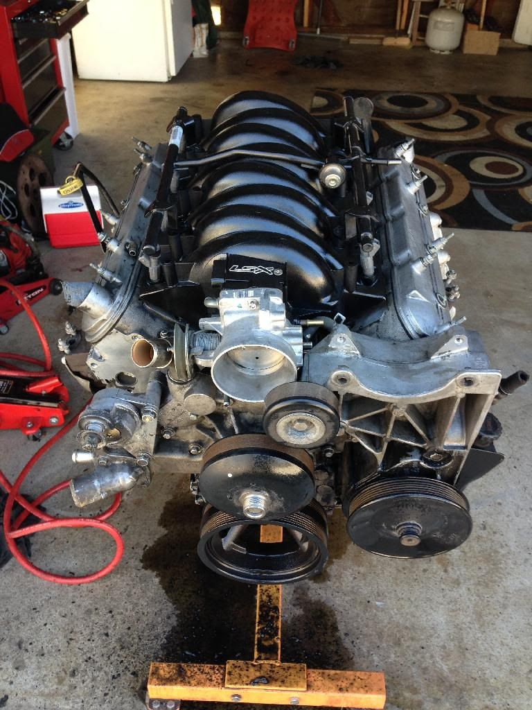 My 5.3L Build Ls1 Intake With Truck Accessories - LS1TECH | LS Motors & Swaps***** | Pinterest