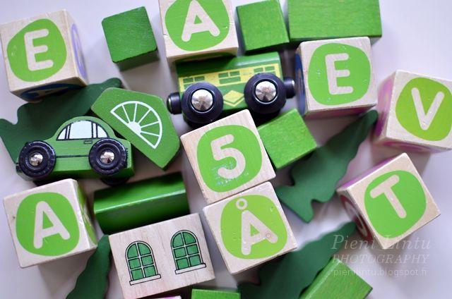 Pieni Lintu: Green palette