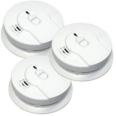 Kidde Code One 10 Year Sealed Battery Smoke Detector With Ionization Sensor 3 Pack 21029885 The Home Depot Smoke Alarms Fire Alarm Smoke Detector