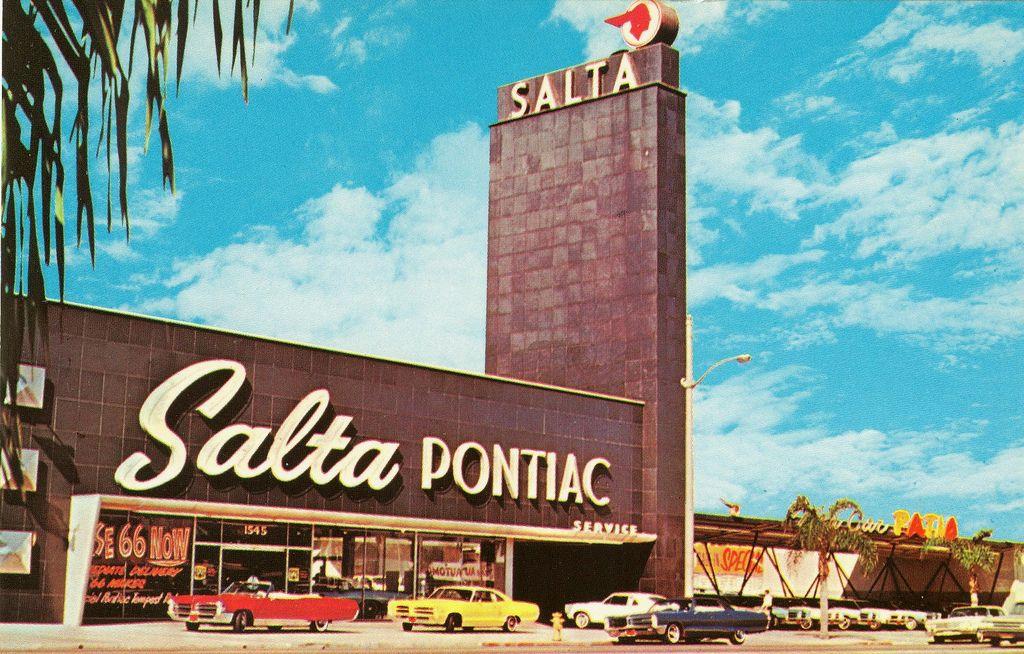 1966 Mike Salta Pontiac Dealership, Long Beach, California