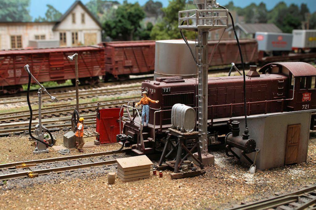 John Kalins Rio Grande Southern Sn3 Model Railroad