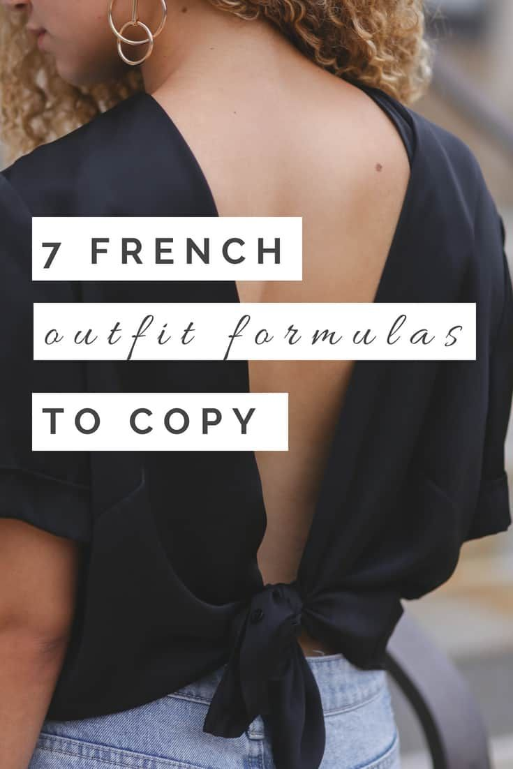 7 French Outfit Formulas You Can Copy - MY CHIC OBSESSION 3