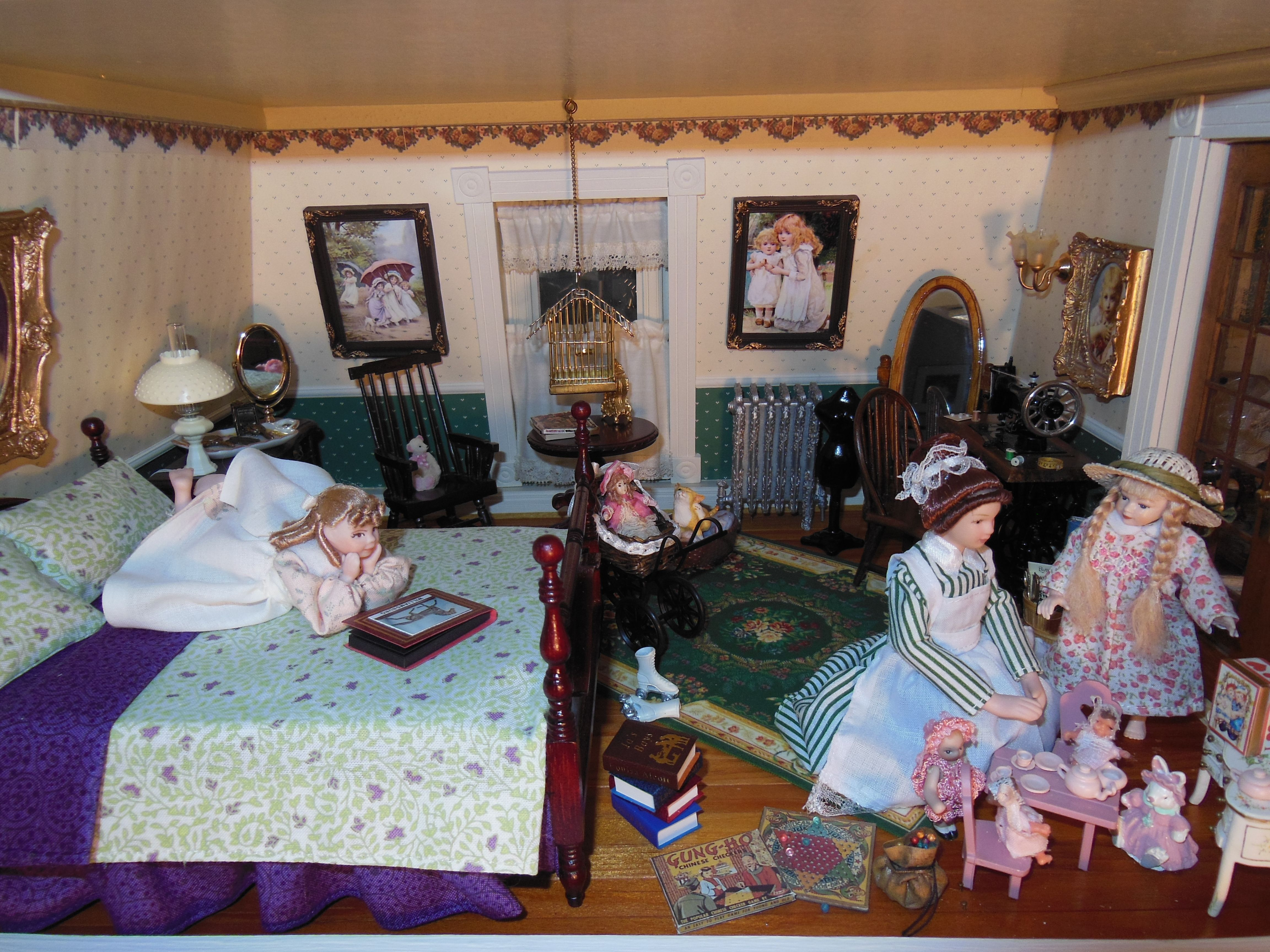 Hofco Federal Victorian Dollhouse By Jo Dixon The Girl S Room