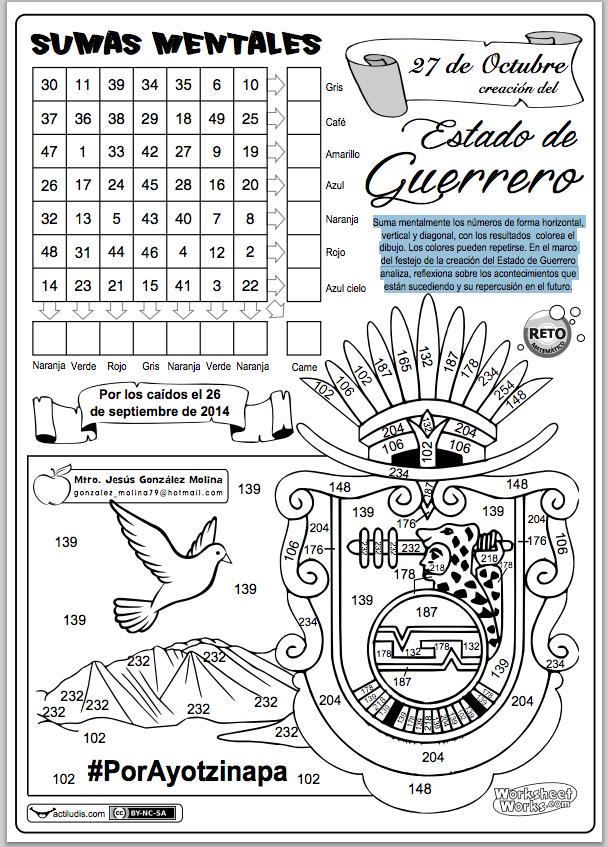 Estado de Guerrero | Abn | Pinterest | Ejercicio para, Ejercicios ...