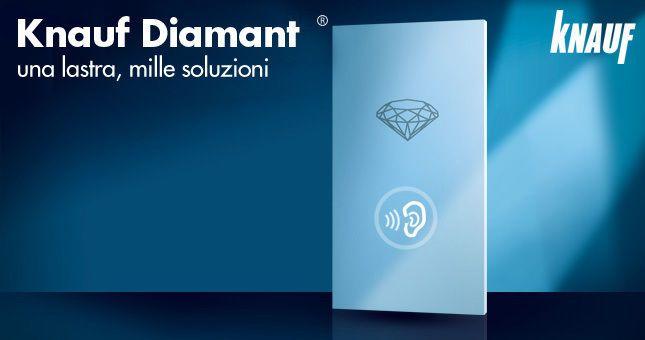Cartongesso Knauf : Cartongesso knauf lastra diamant cm sp mm materials