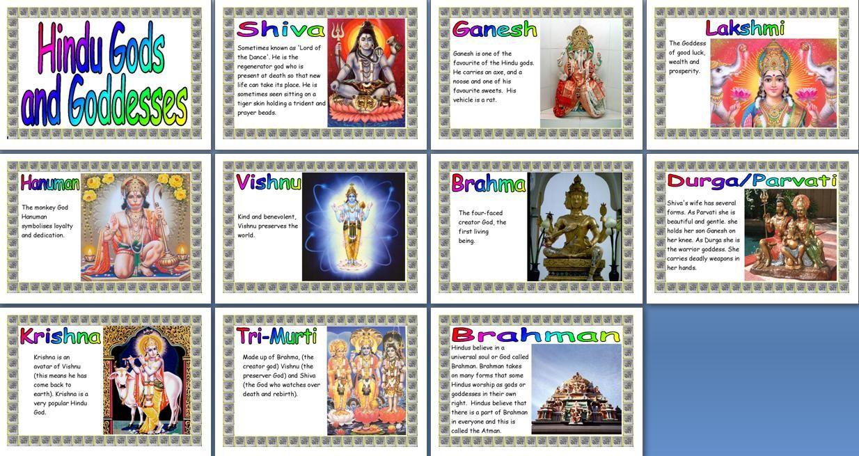 Ks2 re teaching resource hindu gods printable classroom display ks2 re teaching resource hindu gods printable classroom display posters for primary schools buycottarizona Gallery