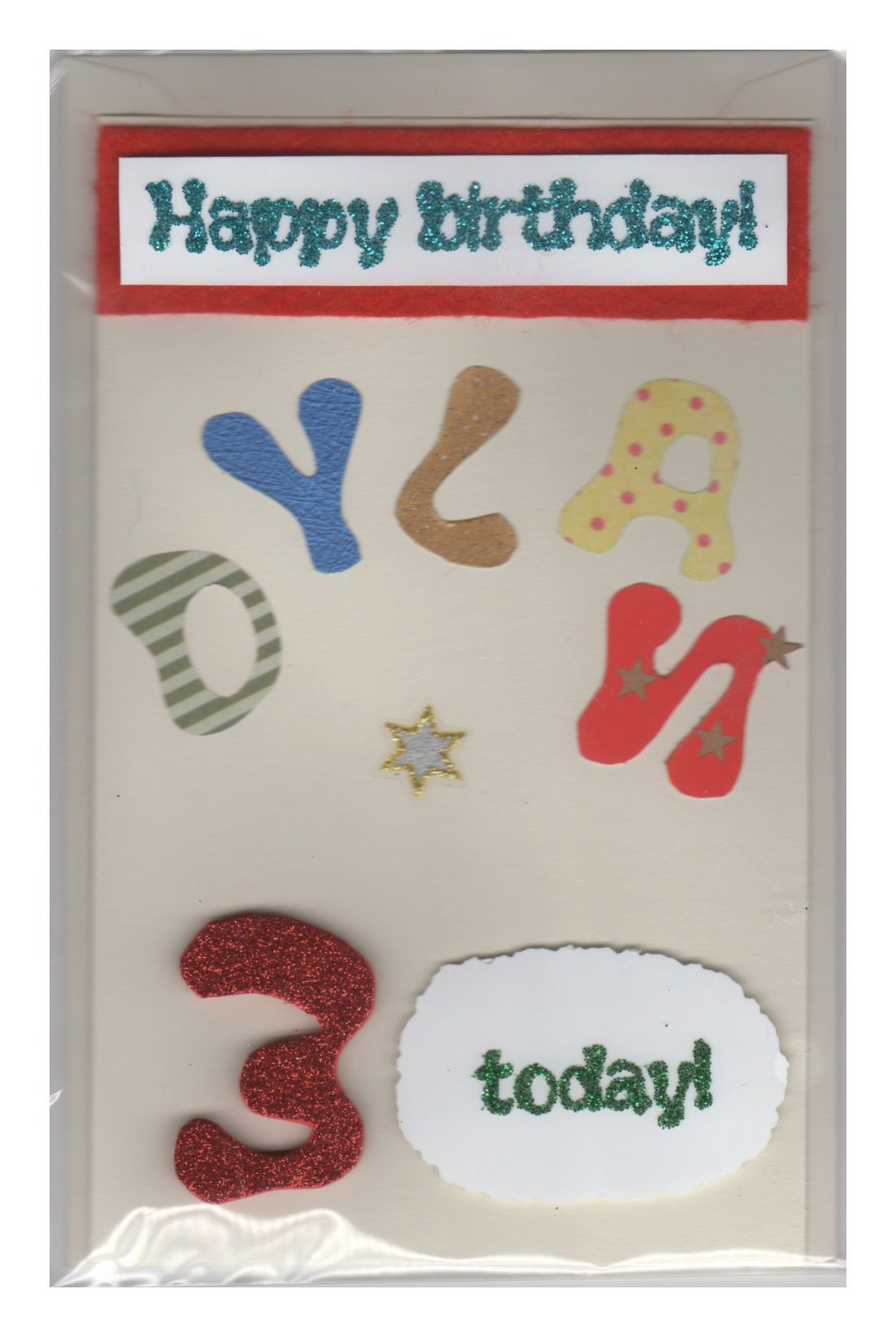 Birthday card for 3 year old card ideas pinterest card ideas birthday card for 3 year old kristyandbryce Choice Image