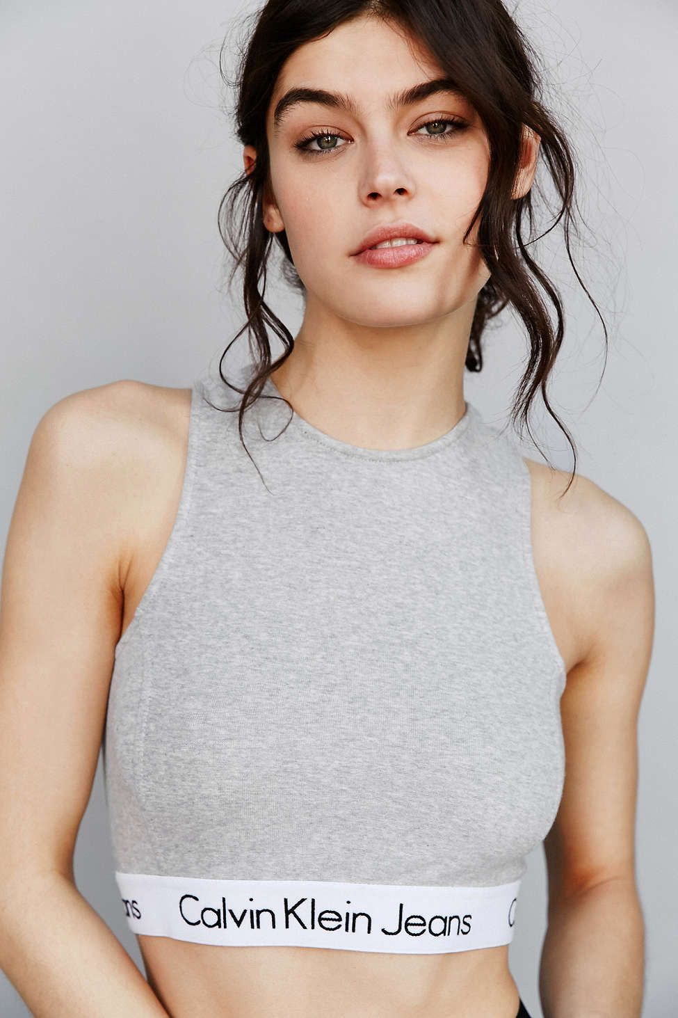 abb3723af0f302 Calvin Klein For UO High-Neck Tank Top maybe i pinned this already. idc  because it s so cute!!