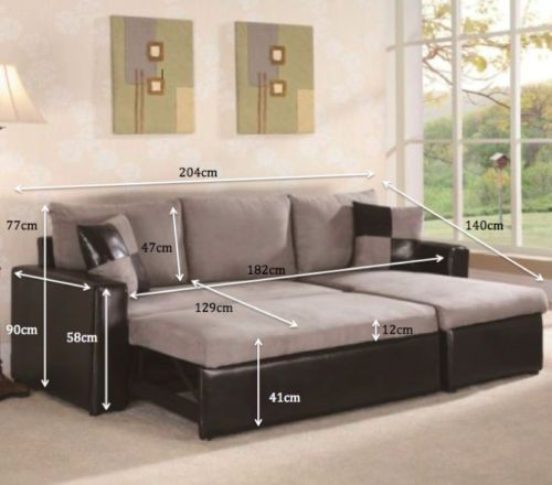 L Shape Corner Sofa With Pull Out Sofa Bed And Chaise Storage Modern New Trendy Pull Out Sofa Bed Corner Sofa Sofa