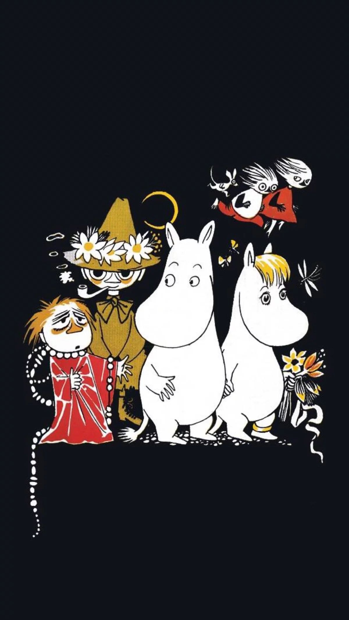 Moomin ムーミン 壁紙 ムーミン イラスト リトルミイ 画像