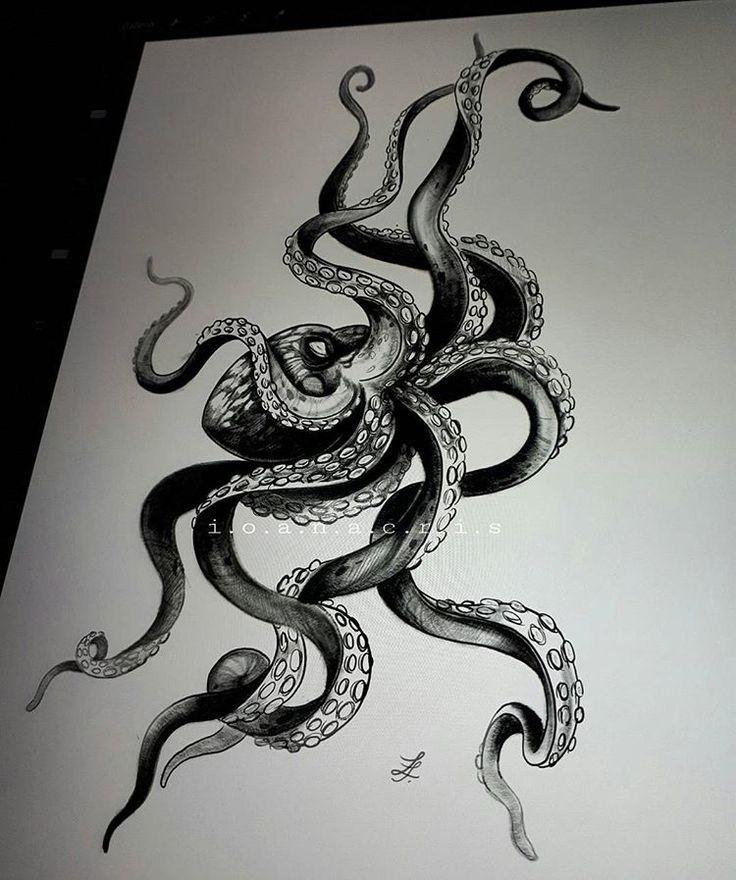 Ein schlechter Tintenfisch! ? By @ i.o.a.n.a.c.r.i.s octopus drawing .... Ein schlechter Tintenfisch! ? By @ i.o.a.n.a.c.r.i.s octopus drawing ...,