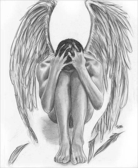 Resultado De Imagem Para Desenhos De Anjos Caidos Arte De Anjo