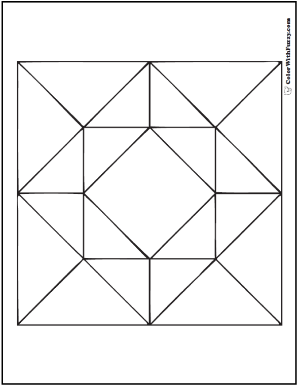70 Geometric Coloring Pages To Print And Customize Barn Quilt Patterns Geometric Coloring Pages Painted Barn Quilts