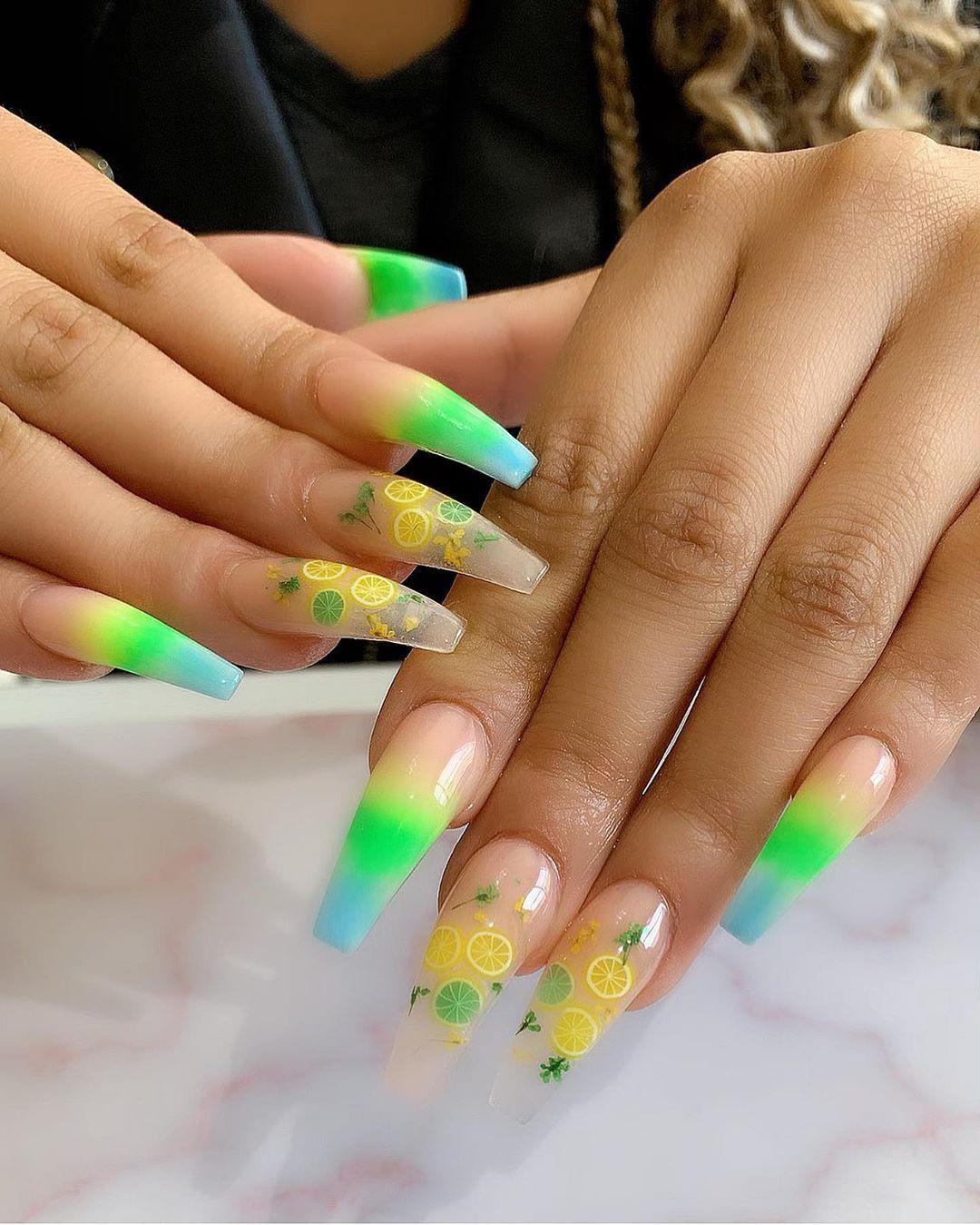 Amazing Job Done By Klichy Amazing Nails Instagram