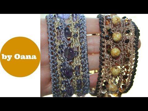 Bracciale boho con perline by Oana - YouTube
