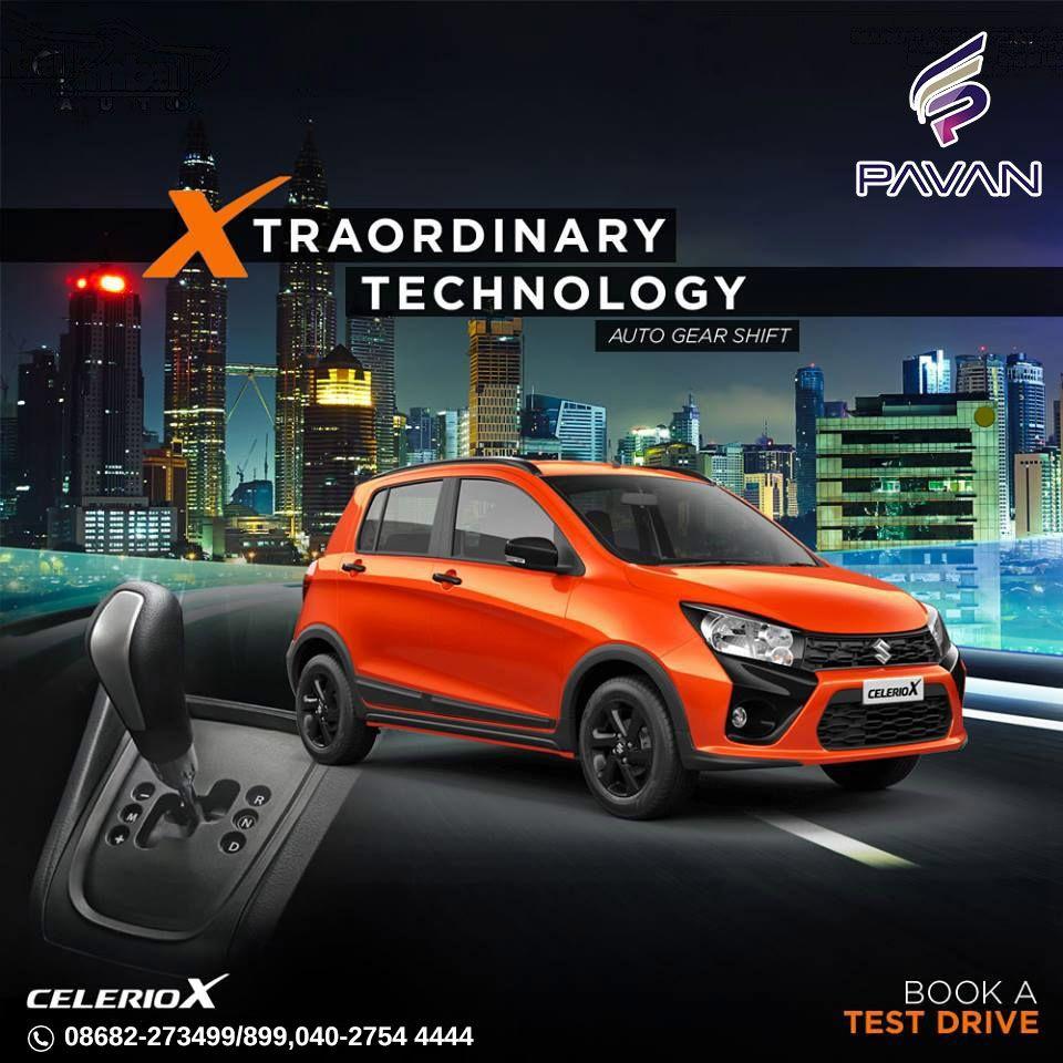 The allnew Maruti Suzuki CelerioX is here to enhance your