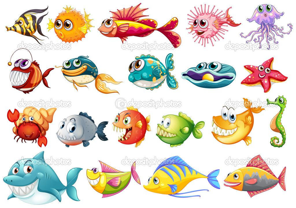ilustracion de peces - Buscar con Google