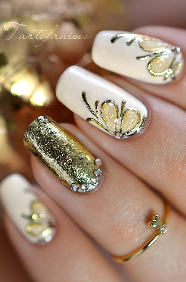 nail art gel foil #trythisnail | Nail Picasso | Pinterest | Gold ...