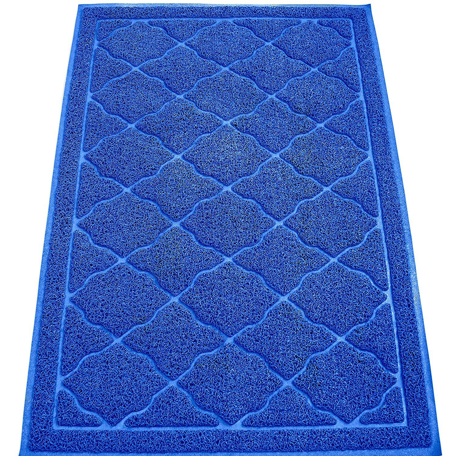 Extra Large Cat Litter Mat By KW Pets NonToxic, Soft