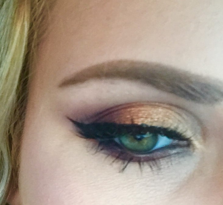 OMBRÉ EYE look by natalie05828 on #TheBeautyBoard #Sephora