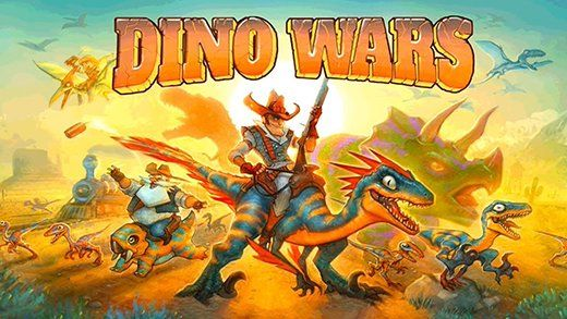 Download Dino Wars APK for Android is a tactical 3D game