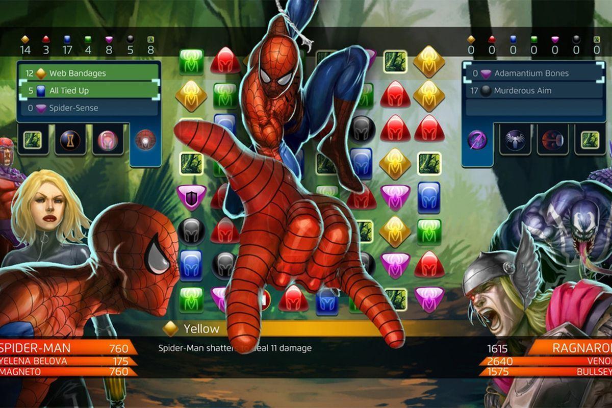 Marvel puzzle quest tutorial
