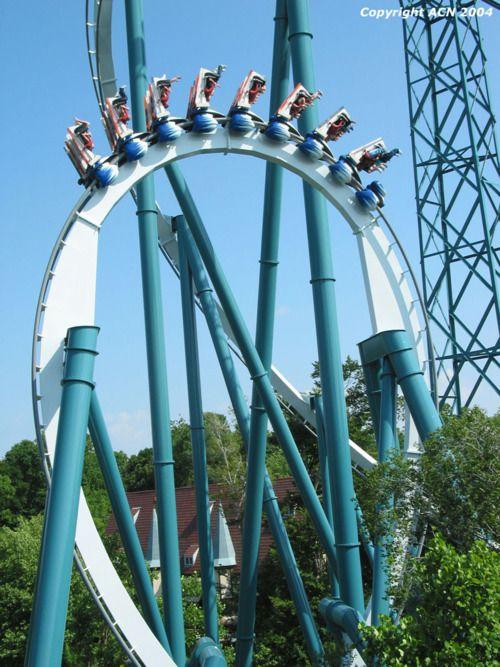 New Wooden Roller Coaster At Busch Gardens Williamsburg