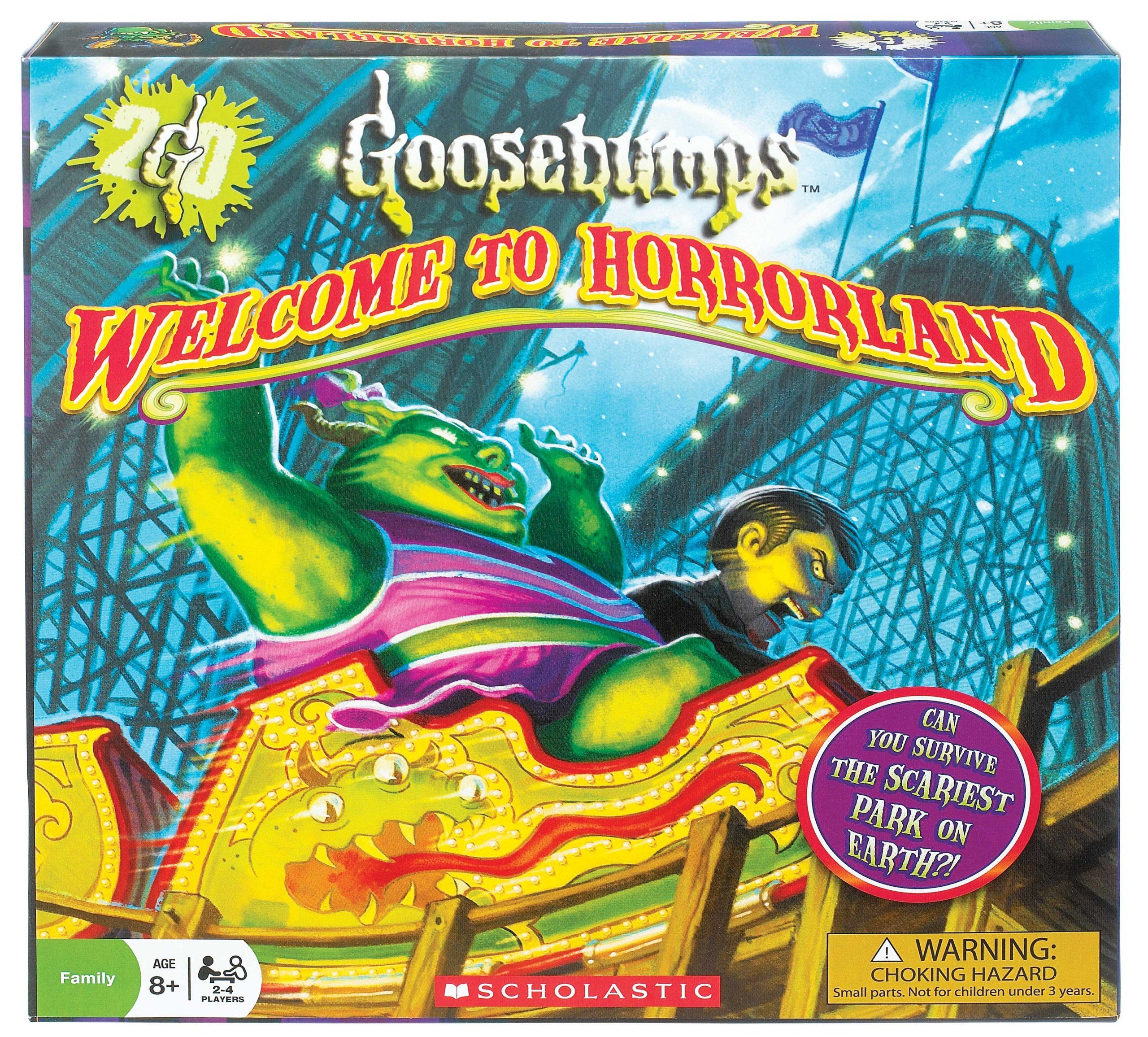 Goosebumps to Horrorland Board Game (With images