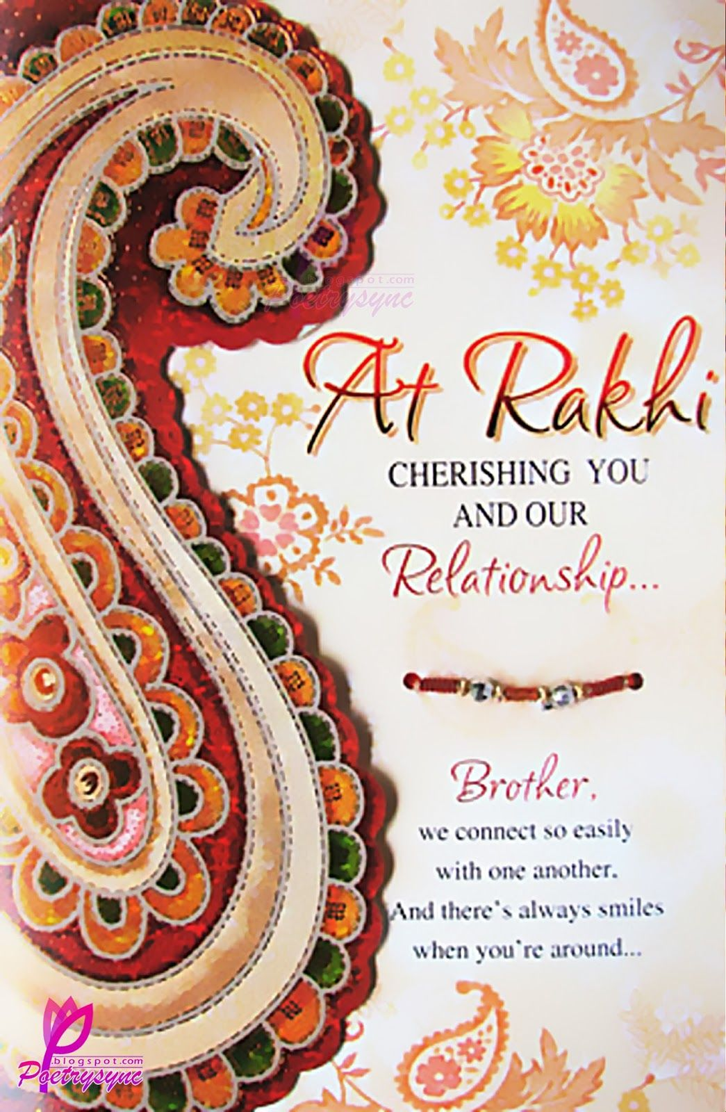 Brother And Sister Quotes Siblings Bandhan Greetings Cards For