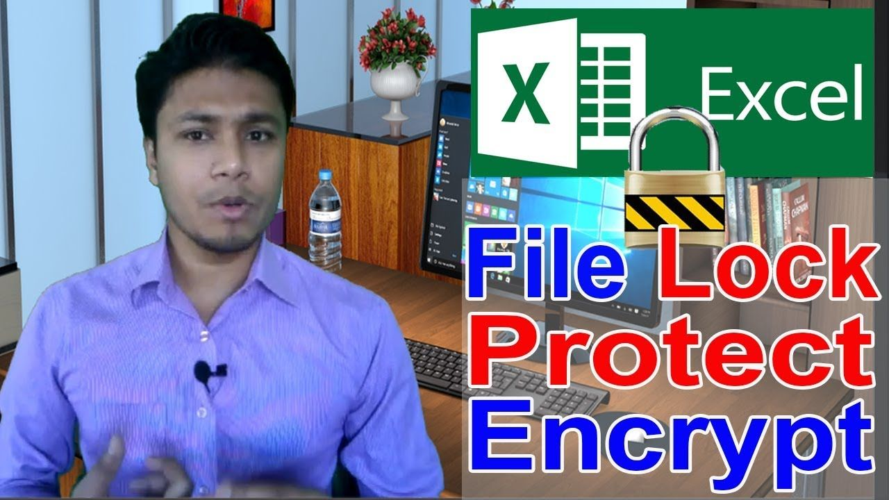 How to Lock / Protect / Encrypt / Password in MS Excel