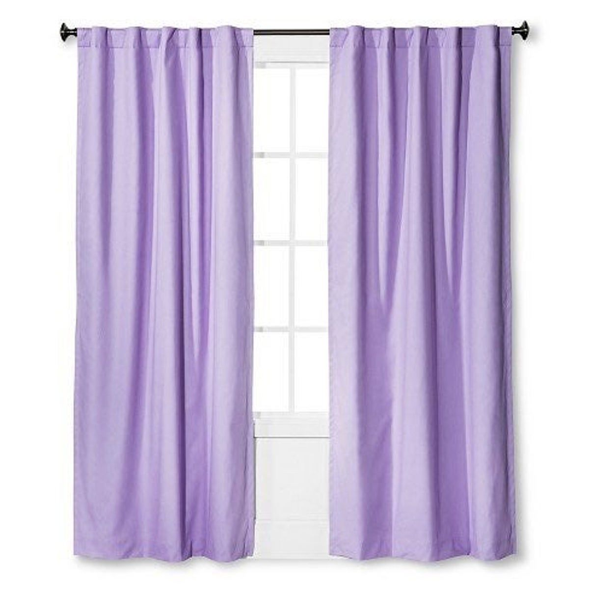 Lavender Light Blocking Curtains In 2020 Panel Curtains Light