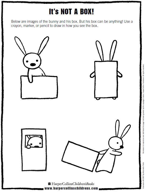 Ms.T's Art Room: Not a Box: Kindergarten and Grade 1
