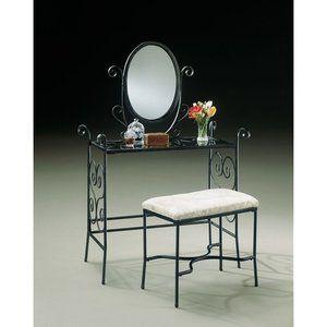Powell Furniture Garden District 36'' Bedroom Vanity Set