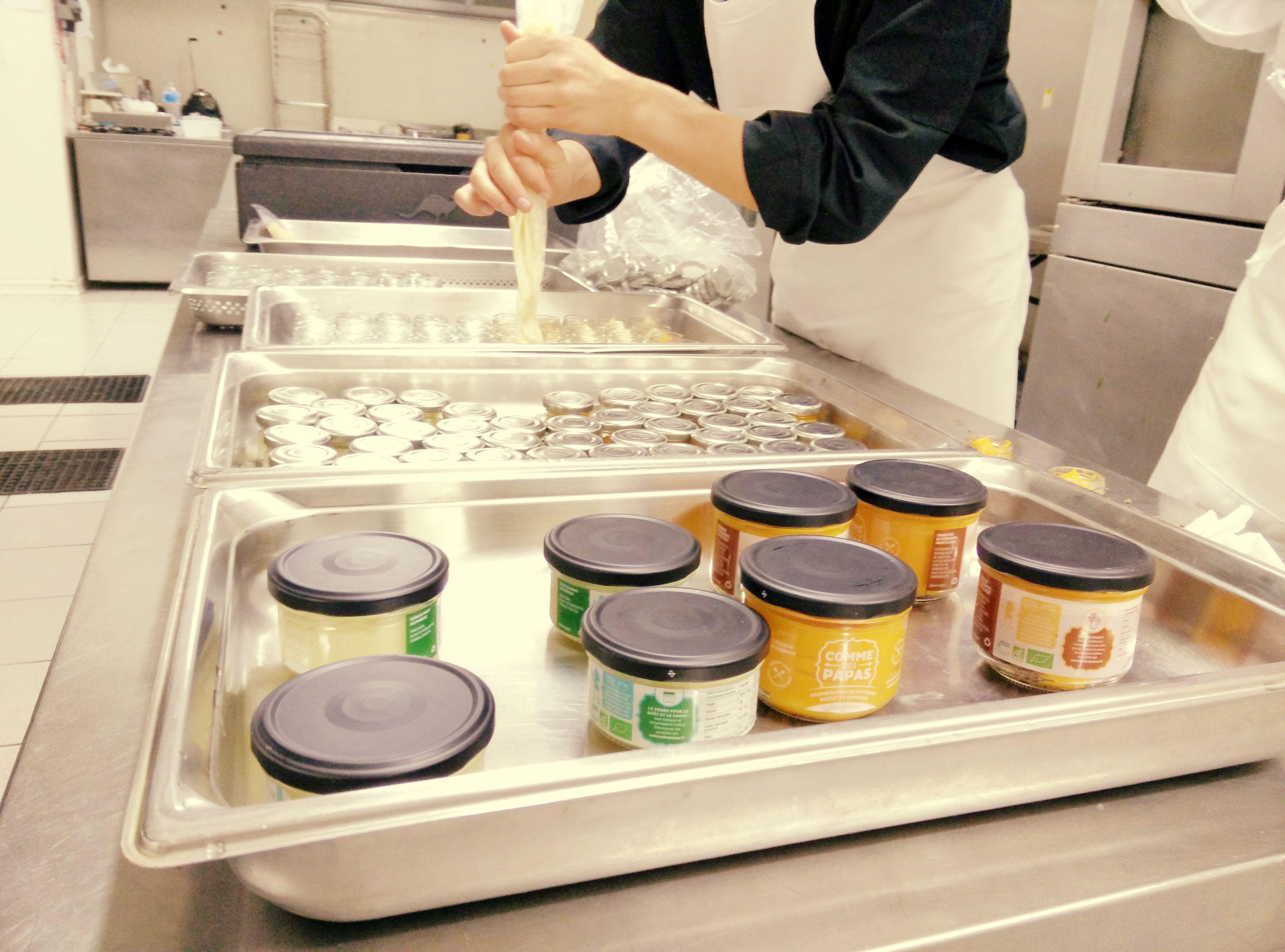 Echelle Humaine Et Travail A La Main Creme De Panais Soupe Bebe Fait Maison