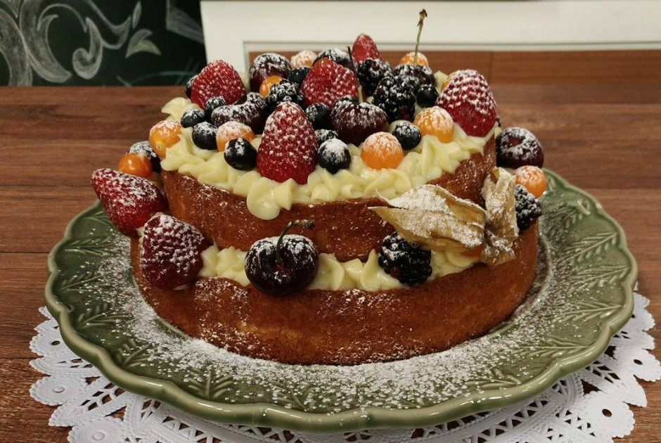 Blog da Xanda »»»»: Como fazer o Naked Cake (Bolo Rústico)