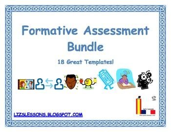 Formative Assessment Templates  Formative Assessment Students