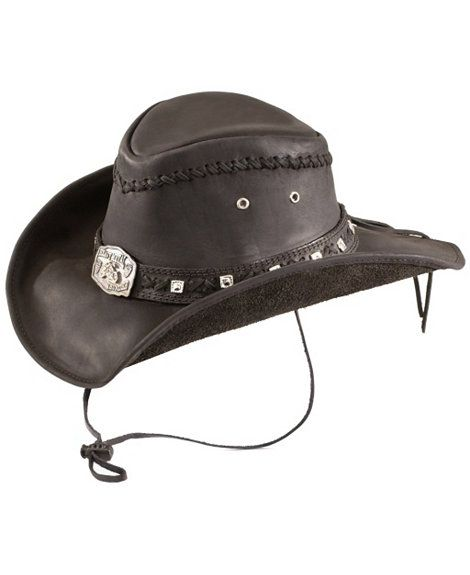 713e9ca89da818 Bullhide Thunderstruck leather cowboy hat This is the most badass hat I've  ever seen.
