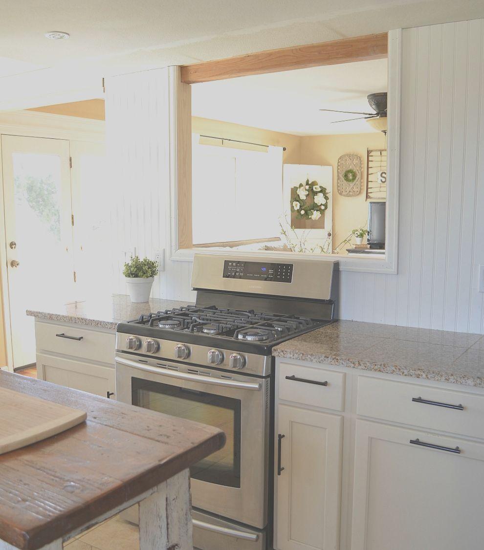 Kitchen Remodel Update The Pass Through Is Done In 2020 Kitchen Remodel Small Kitchen Decor Inspiration Pass Through Kitchen