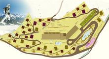 Gradonna Mountain Resort - Landkarte