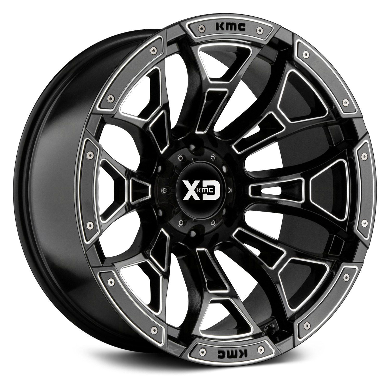 Xd Series Xd841 Boneyard Gloss Black With Milled Accents