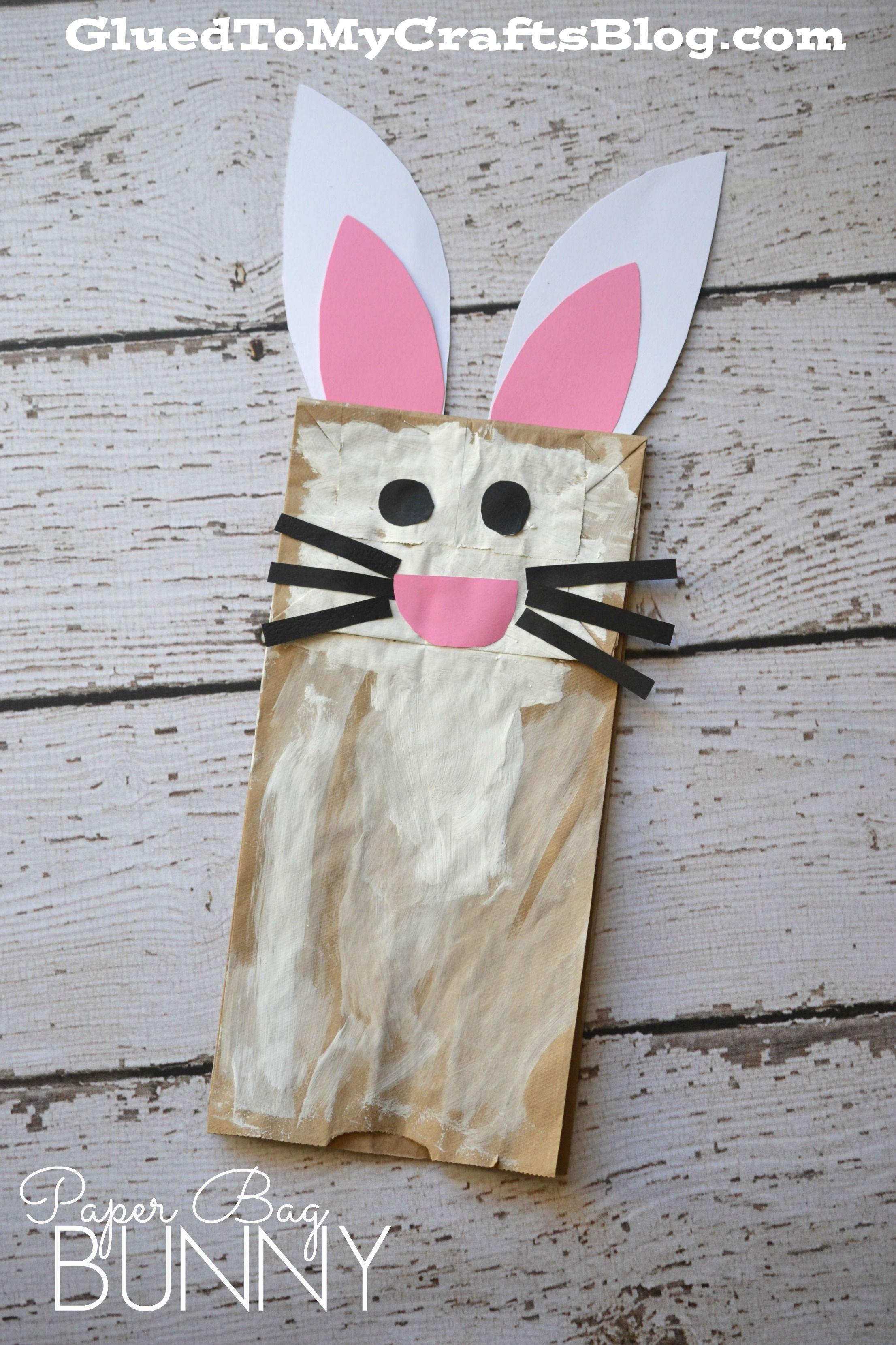 Paper Bag Bunny {Kid Craft}