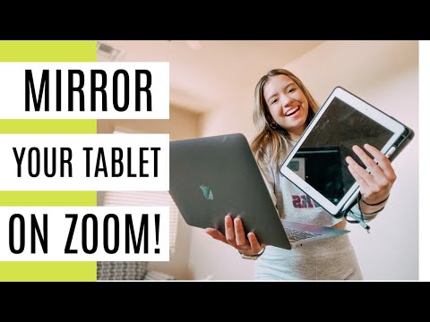 10 How I Mirror My Ipad On Zoom Remote Learning Tip Youtube My Mirror Tips Learning