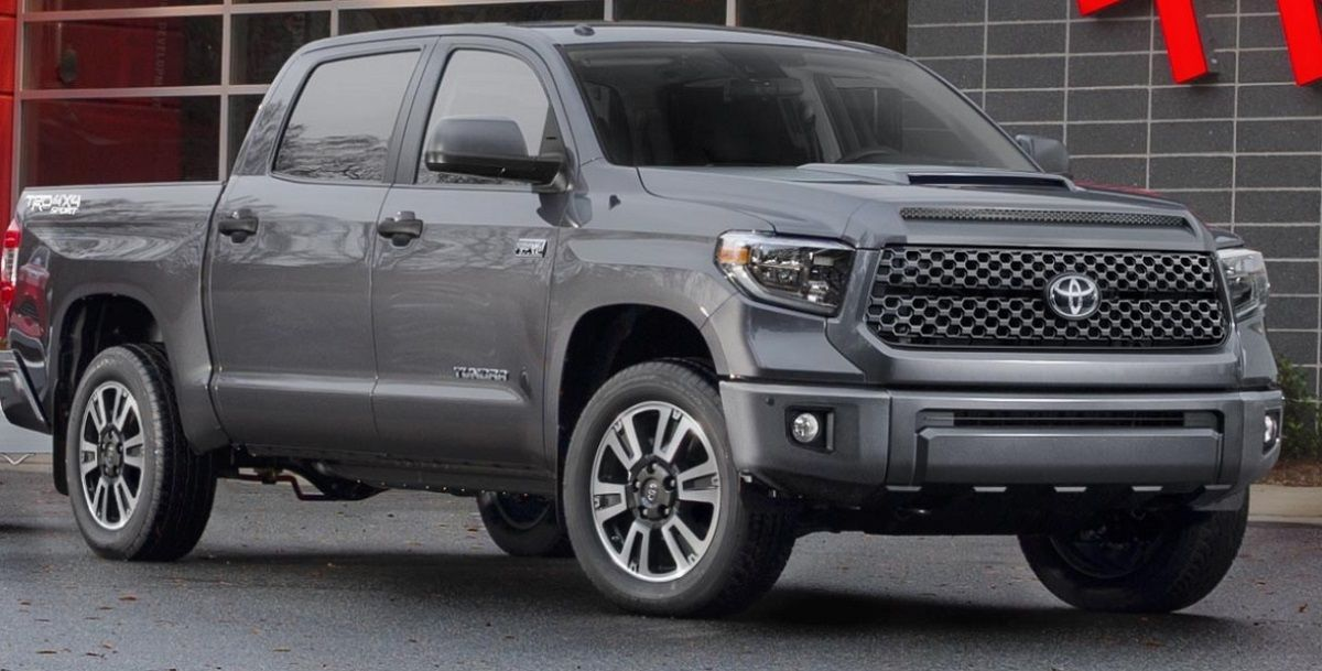 2021 Toyota Tundra Trd Sport Will Arrive Later This Year Tundra Trd Toyota Tundra Trd Toyota Tundra