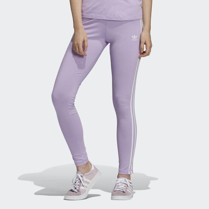 c5f1d16d12d51c 3-Stripes Leggings Purple XL Womens in 2019 | Products | Striped ...