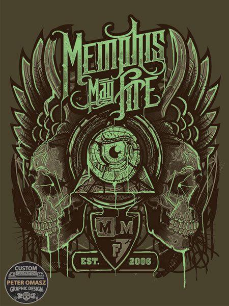 MemphisMayFire - Zodiac Skullz