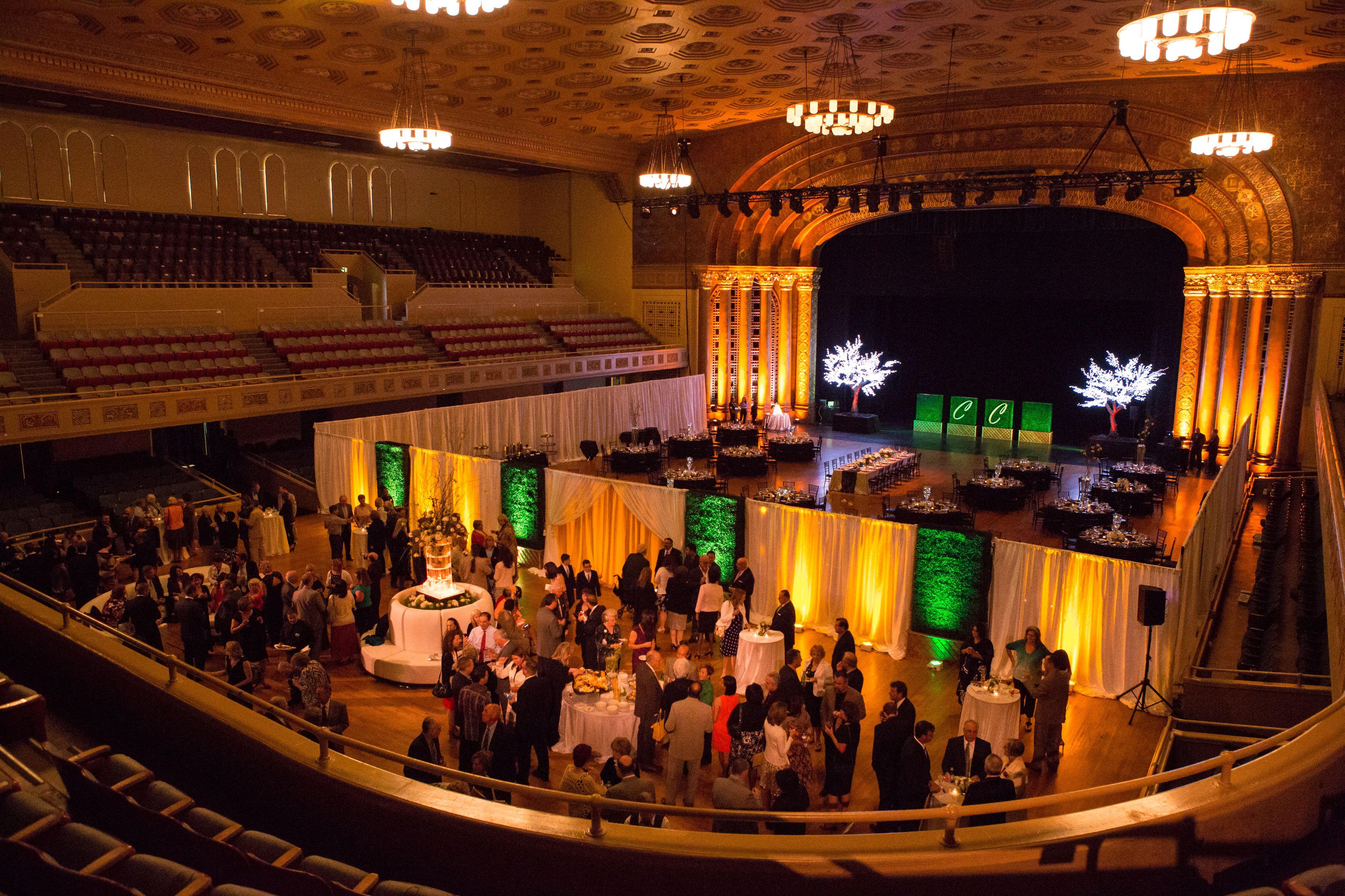 View Of Memorial Auditorium Main Floor From Balcony The Main Floor Of Memorial Auditorium Stage Was Divided Into Auditorium Seating Seating Charts Auditorium