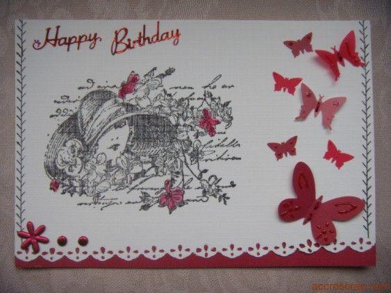 id e scrapbooking carte anniversaire cards pinterest carte anniversaire scrapbooking et. Black Bedroom Furniture Sets. Home Design Ideas