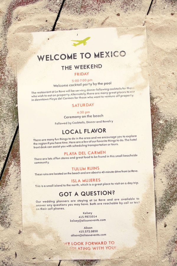 Mexico Wedding By Ae Planning  Design  Weddings Wedding And