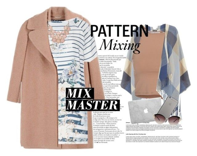"""Mix Master"" by lottie-morris ❤ liked on Polyvore featuring Rochas, Open End, Dorothy Perkins, NLY Trend, Native Union and patternmixing"