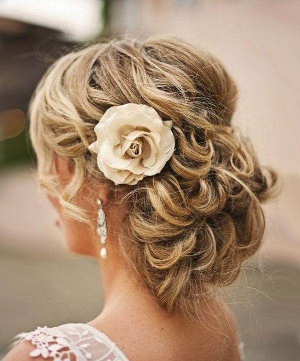 свадебные прически фото на средней длины волосы